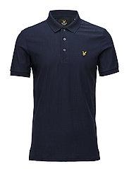 Rain Jacquard Polo Shirt - NAVY