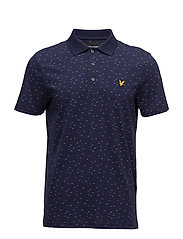 Fil Coupe Polo Shirt - NAVY