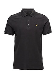 Brushed Polo Shirt - CHARCOAL