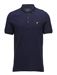 Honeycomb Polo Shirt - NAVY