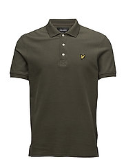 Honeycomb Polo Shirt - OLIVE