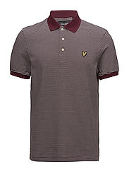 Feeder Stripe Polo Shirt - CLARET JUG