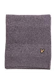 Birdseye Knitted Scarf