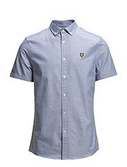 SS Plain oxford shirt - French Navy