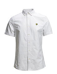 SS Plain oxford shirt - White
