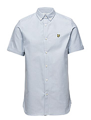 SS Plain Oxford Shirt - RIVIERA
