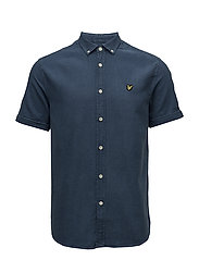 SS Indigo Oxford Shirt - LIGHT INDIGO