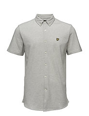 Jersey Shirt - LIGHT GREY MARL