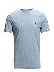 SS Crew neck t-shirt - BLUE MARL