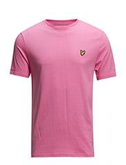SS Crew neck t-shirt - Hot Pink