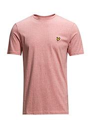 SS Crew neck t-shirt - PINK MARL