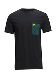 SS Contrast pocket t-shirt - New Navy