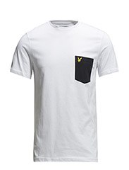 SS Contrast pocket t-shirt - White