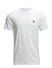SS Micro split square t-shirt - White