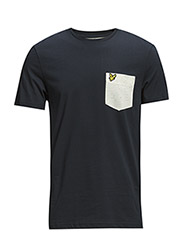 SS Nepped Pocket T-Shirt - NEW NAVY
