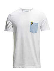 SS Nepped Pocket T-Shirt - White