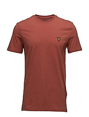 T-Shirt - FLAME RED MARL