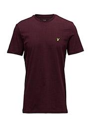 T-Shirt - CLARET MARL