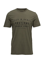 Graphic T-shirt - OLIVE