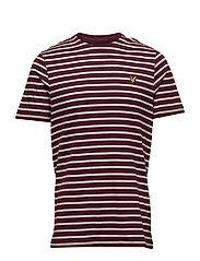 Breton Stripe T-shirt - CLARET JUG