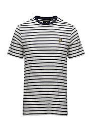 Breton Stripe T-shirt - OFF WHITE
