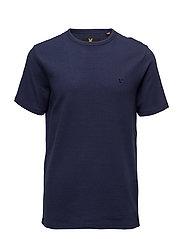 Ottoman Stitch T-Shirt - NAVY