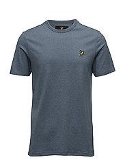 3 Col Mouline T-shirt - BLUE STEEL