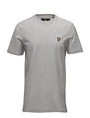 Rain Jacquard T-shirt - LIGHT GREY MARL