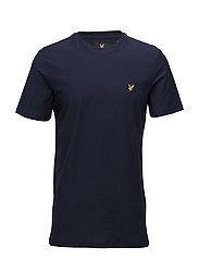 Rain Jacquard T-shirt - NAVY