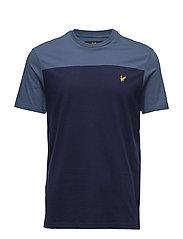 Yoke T-Shirt - BLUE STEEL