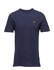 Light Weight Slub T-shirt - NAVY