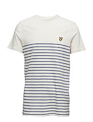 Breton Stripe T-Shirt - STORM BLUE