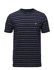 Pick Stitch T-Shirt - NAVY