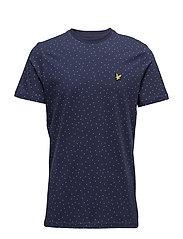 Mini SquareDot T-Shirt - NAVY