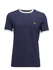 Ringer T-Shirt - NAVY