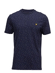 Fil Coupe T-shirt - NAVY