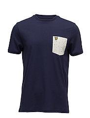 Fil Coupe Pocket T-shirt - NAVY