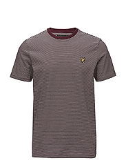 Feeder Stripe T-shirt - CLARET JUG