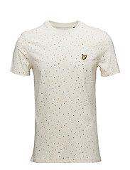 Climbing Wall Print T-shirt - SEASHELL WHITE
