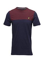 Yoke T-shirt - NAVY
