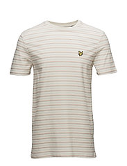 Bungee Stripe T-shirt - SEASHELL WHITE