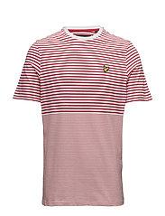 Stripe T Shirt - POPPY