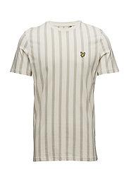 Deckchair Stripe T Shirt - SEASHELL WHITE