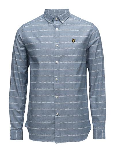 Lyle & Scott Stripe Print Shirt