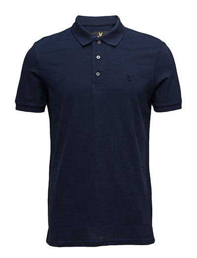 Lyle & Scott Checker Block Polo Shirt
