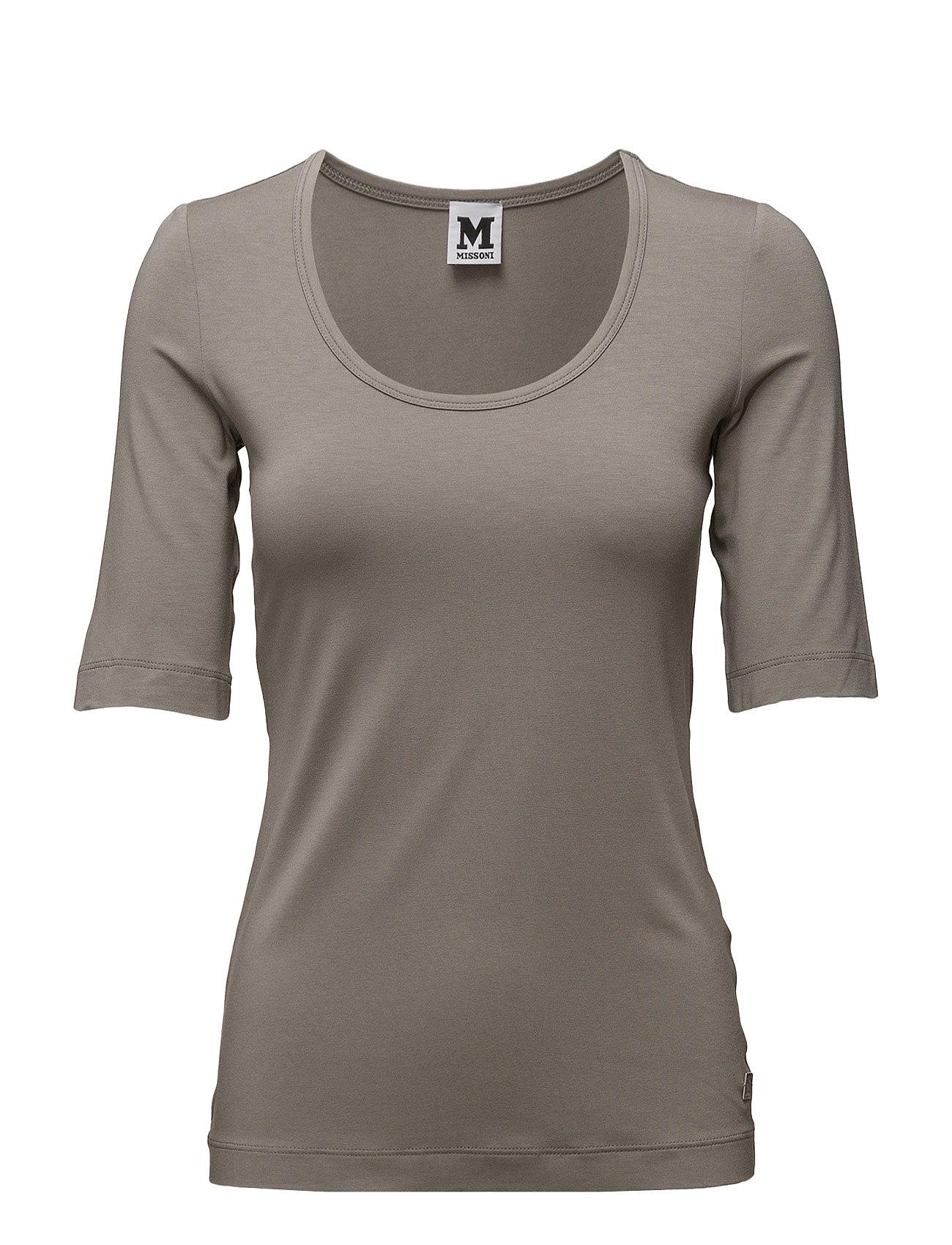 T-Shirt Jersey M Missoni Kortærmede til Kvinder i Sort