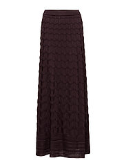 M Missoni-SKIRT KNITTED - PURPLE