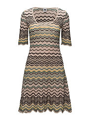 M MISSONI-DRESS - CHAMPAGNE