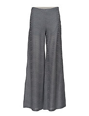 M MISSONI-PANTS JERSEY - LIGHT BLUE