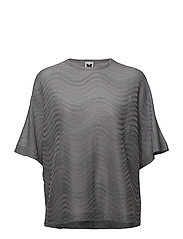 M MISSONI-T-SHIRT JERSEY - LIGHT BLUE